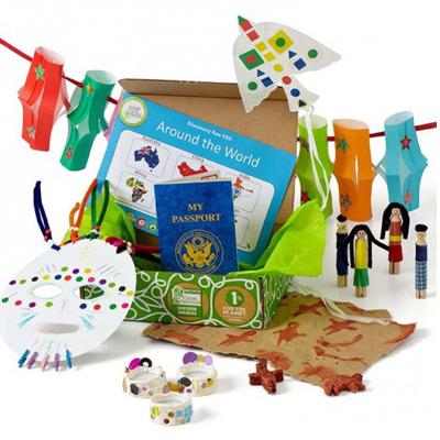 Green Kid Crafts - Around The World Crafts Box | NOW: $34.95