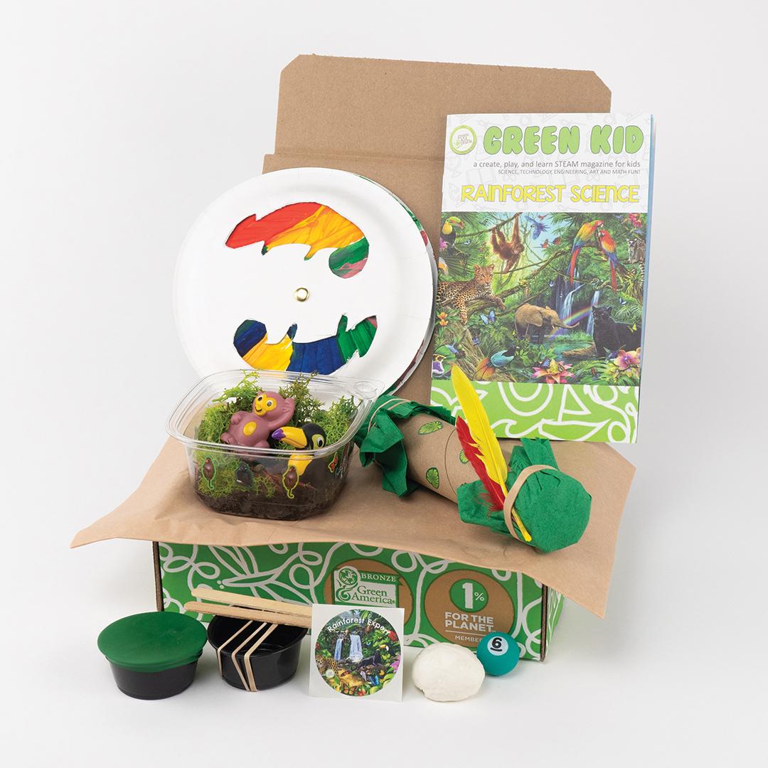 Green Kid Crafts - Rainforest Science Box | NOW: $34.95