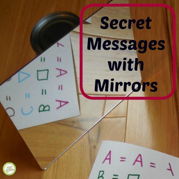secret message activity