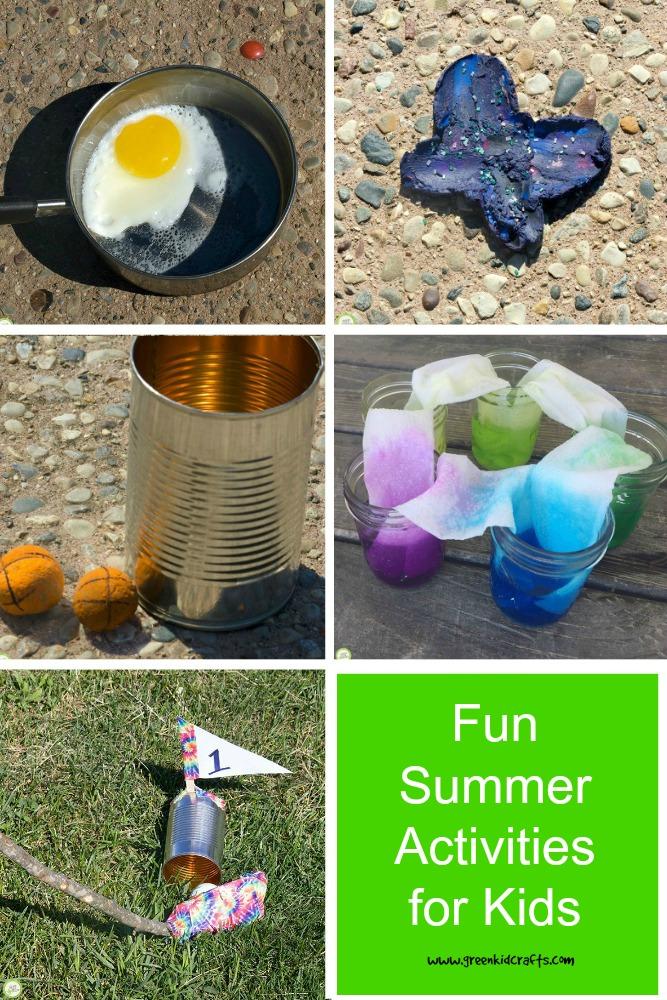 10 Fun summer activities for kids.