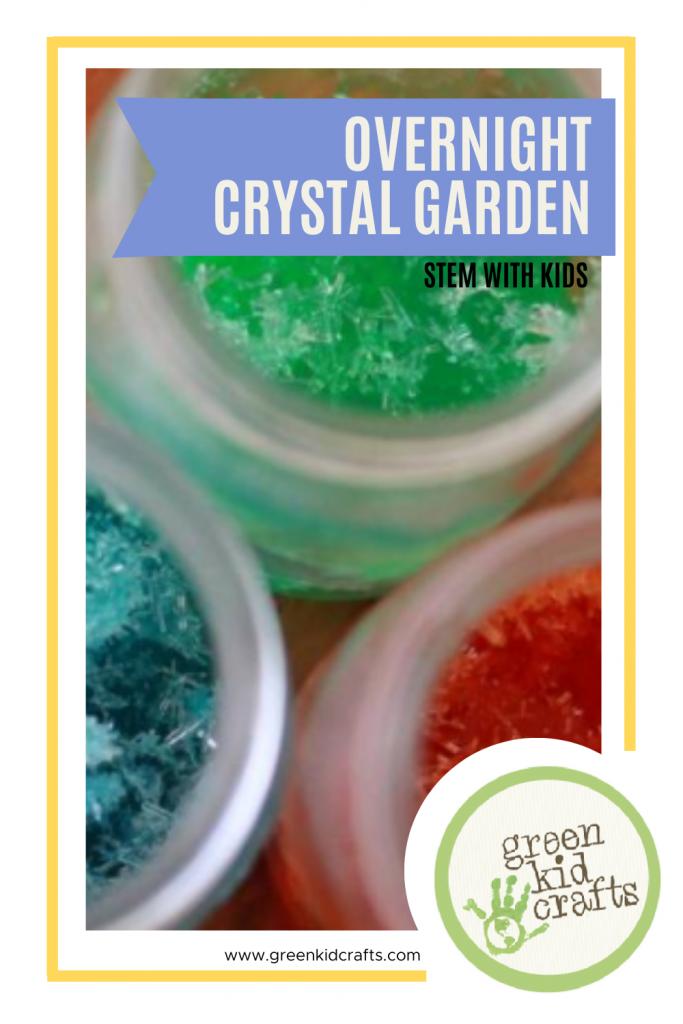 Overnight Crystal Garden