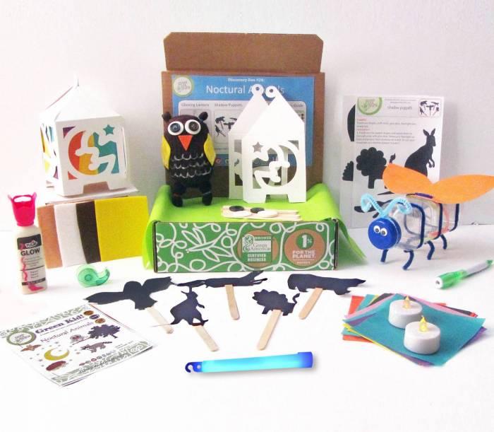 Halloween Nocturnal Animals Box